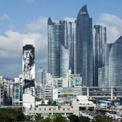 Asia's Tallest Mural by Hendrik Beikirch