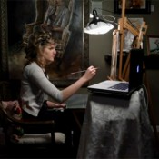 A Beautiful Time-Lapse Video of Artist Jenna Anderson Painting a Self-Portrait
