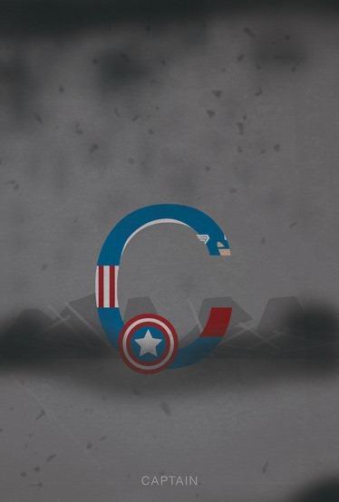 Captain-America-Helvetica-Heroes