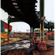 Davis Street I - A Photorealistic Painting by Jessica Hess
