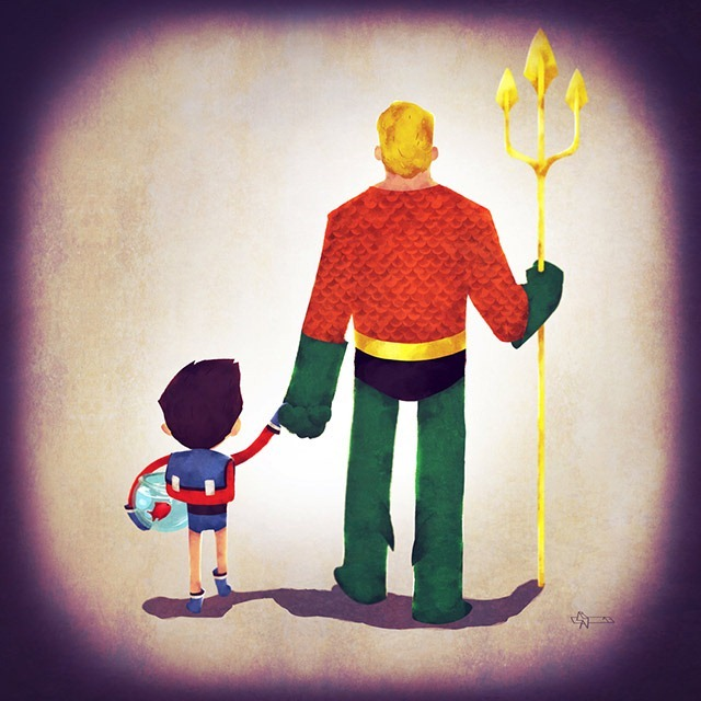 Aquaman-dad-Andry-Shango-Rajoelina