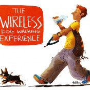 Wireless Dog Walking (JazJaz Flickr Pool)
