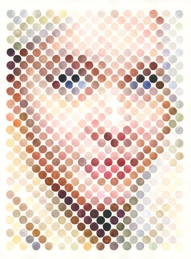 Dot_Portrait_Elene_Nathan_Manire