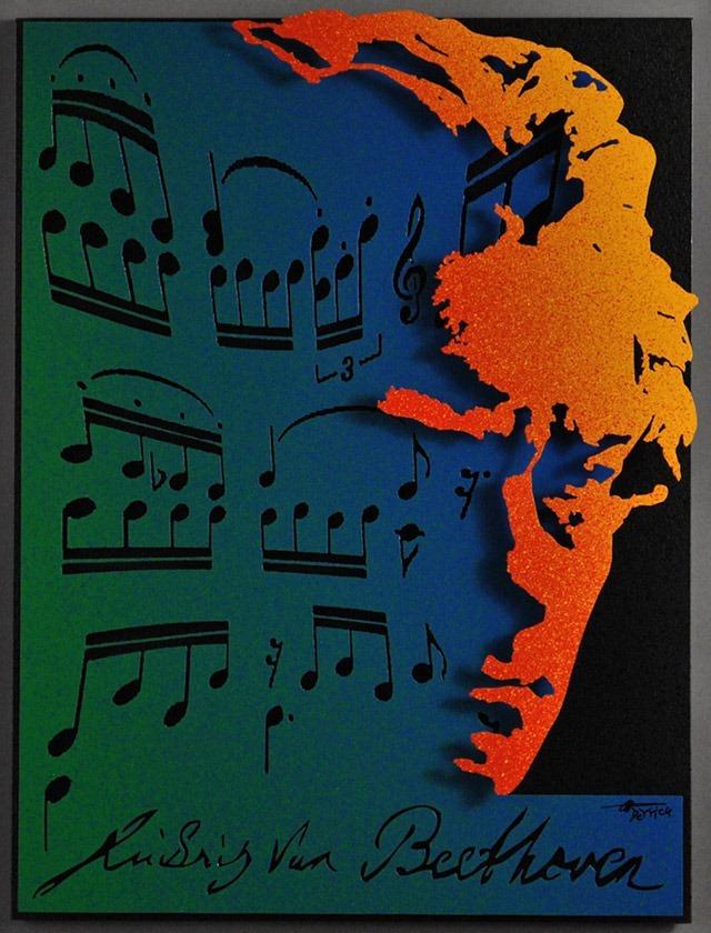 Alan-Derrick-Beethoven_Art_Blue