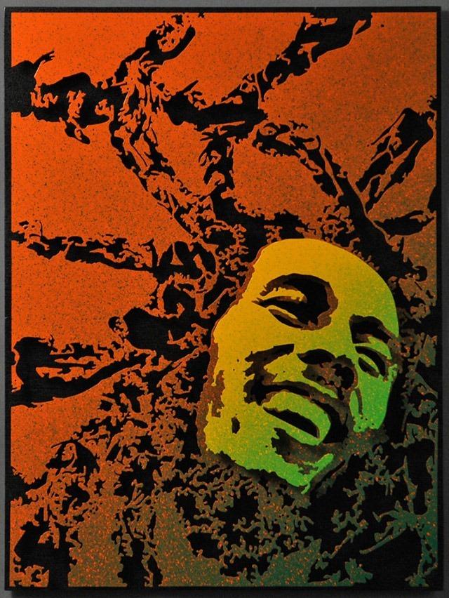 Alan-Derrick-Marley_Art_Green