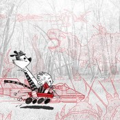 Calvin and Hobbes in Summer & Winter