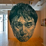 Large Paper Cutout Installations by Risa Fukui