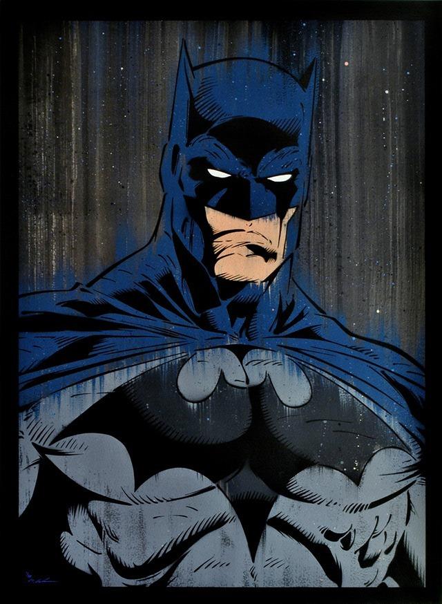 Batman-Gotham-Painting-by-Michael_Latimer