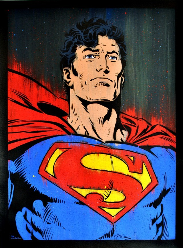 Superman-Painting-by-Michael_Latimer
