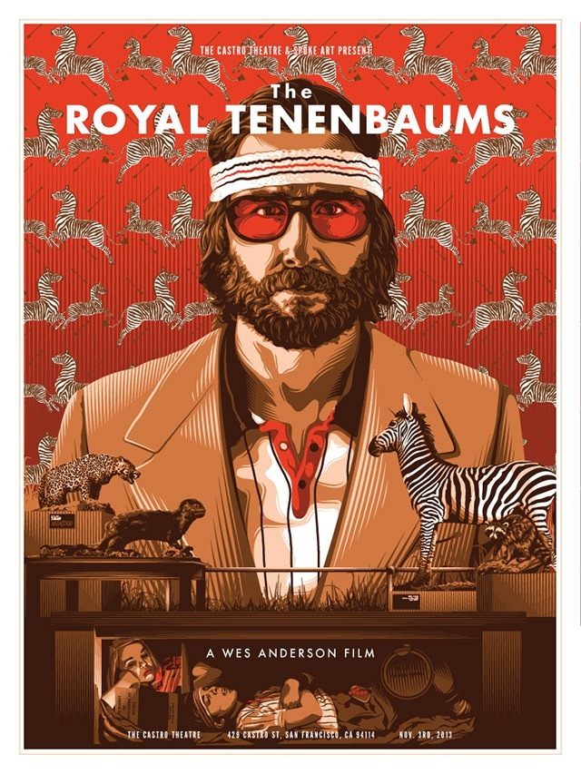 The-Royal-Tenenbaums-byTracie-Ching