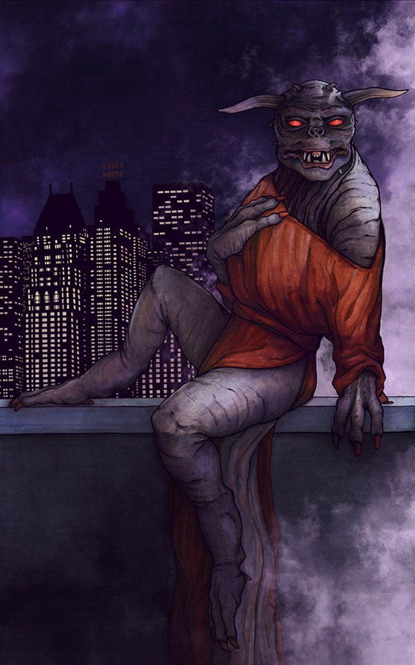 Zuul-The-Calendar-of-Sexy-Monsters-Erika-Deoudes