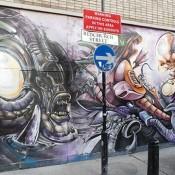 Aliens Mural by Jim Vision & Dr Zadok