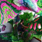 Pseudoscape: A Large Scale Art Installation by Crystal Wagner