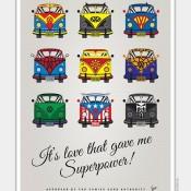 Volkswagen T1 Rides of Popular Superheroes