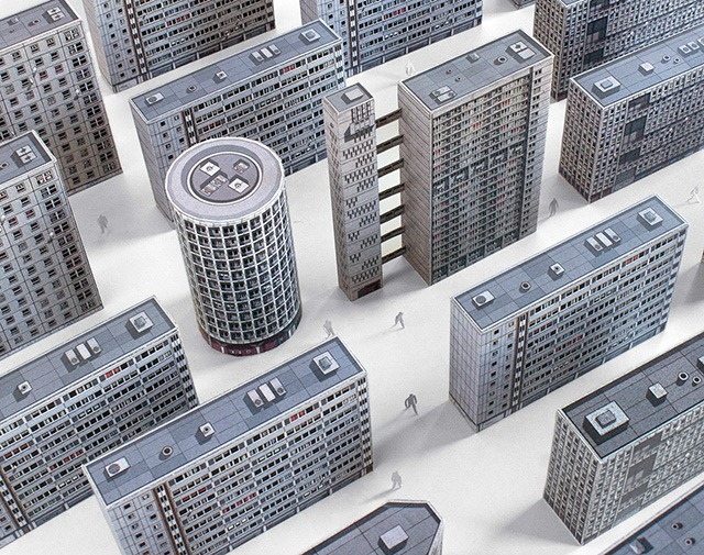 Brutal-London---Paper-Cutout-Models-of-Brutalist-London-Architecture-of-the-60s-to70s-01