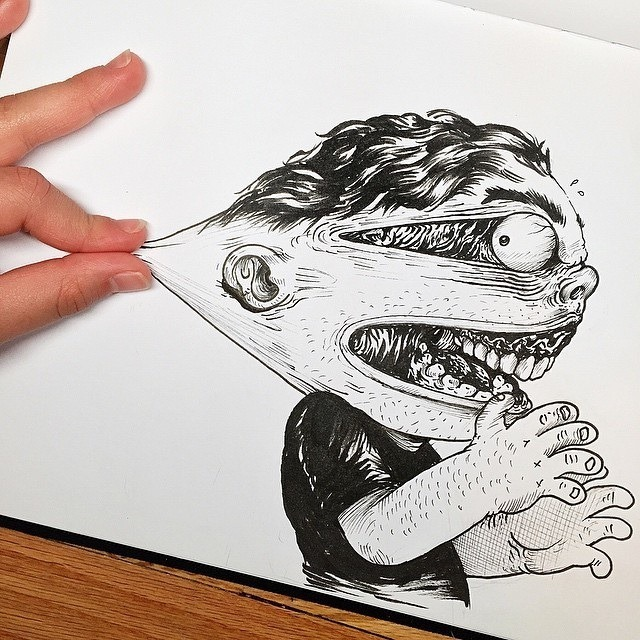 Inkteraction Illustrations by Alex Solis 01
