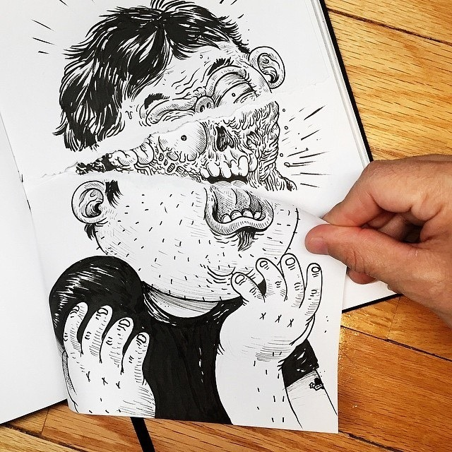Inkteraction Illustrations by Alex Solis 07