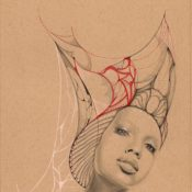 Illustrations of Regally-Beautiful Women in Elaborate Headdresses by Ivette Cabrera