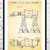 Beautiful Vintage Patent Art Prints by Jason Stanley