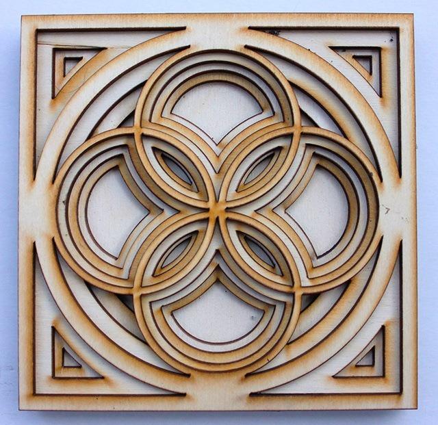 Laser Cut Wood Art by Ben James 03