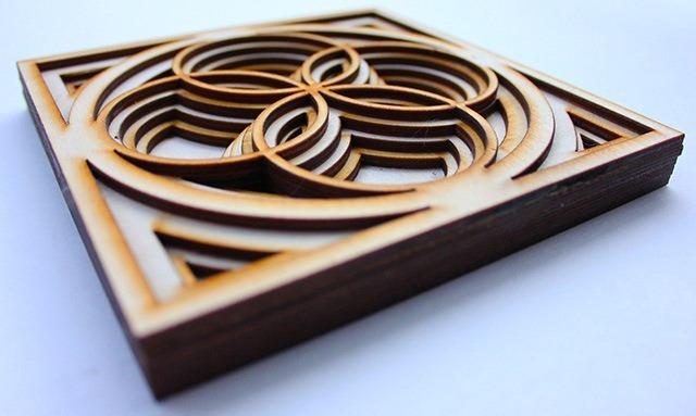 Laser Cut Wood Art by Ben James 04
