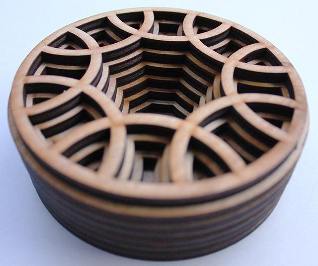 Laser Cut Wood Art by Ben James 06