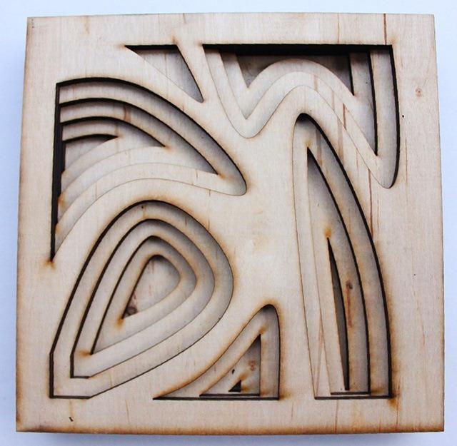 Laser Cut Wood Art by Ben James 09