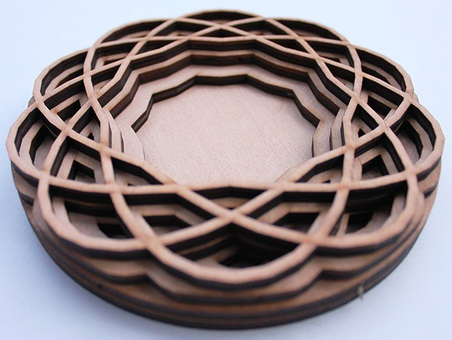 Laser Cut Wood Art by Ben James 12