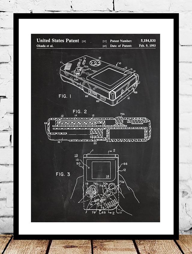 Nintendo-Gameboy-Patent-Print-by-Jason-Stanley
