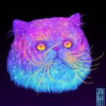 Illustrator Jen Bartel's Awesome Galactic Cats