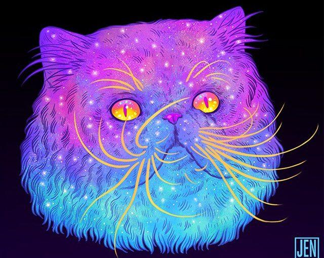 Galactic-Cats-Illustrations-by-Jen-Bartel-05_thumb