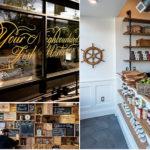 Brilliant Brand Identity Created for 'De La Mer' Boutique Seafood Shop