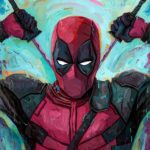 Deadpool Painting by Rich Pellegrino