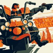Awesome New Judge Dredd Prints by Tom Halen and Matt Ferguson
