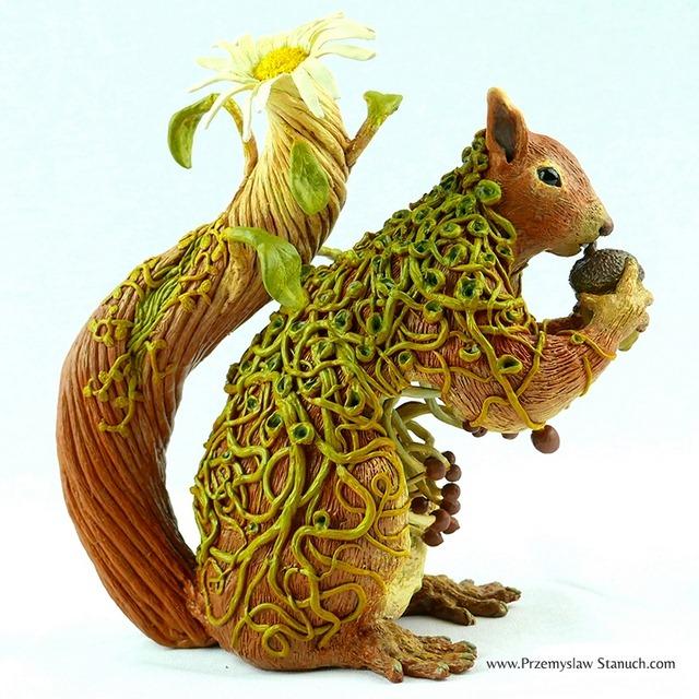 Daisy Squirrel - Przemyslaw Stanuch 2015
