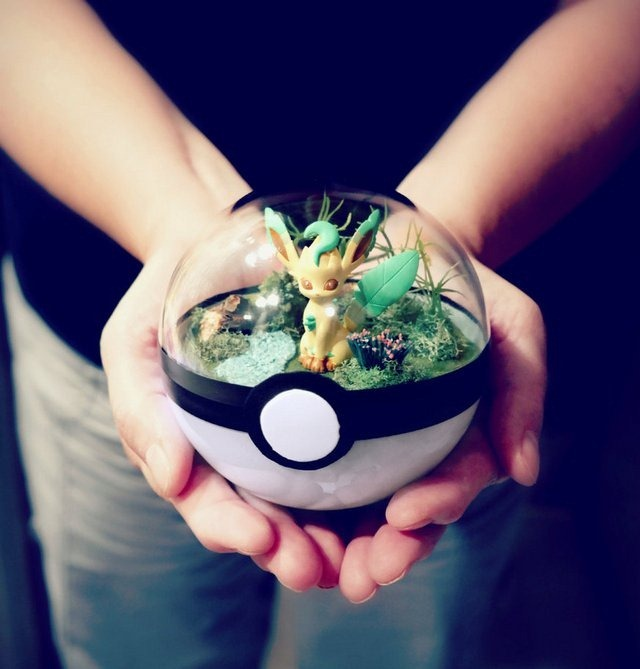 poke_ball_terrarium___leafeon___medium_by_the_vintage_realm-dai8ujq