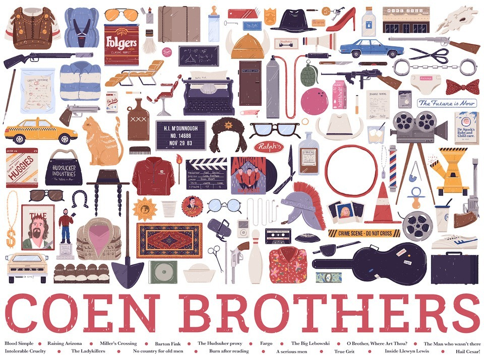 Coen_Brothers_Hollywood_Kits_Illustrations_by_Maria_Suarez-Inclan