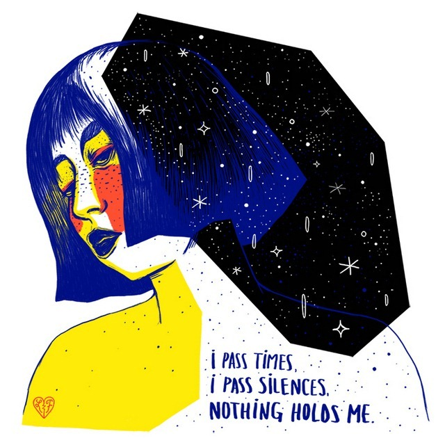 Nothing Holds me -  - Illustration by Livia Falcaru