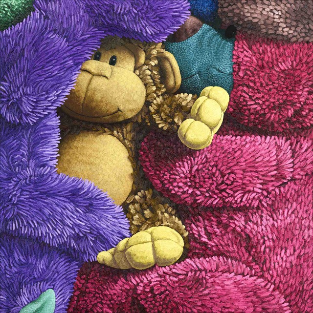 Warm and fuzzy - Oil Painting by Brent Estabrook