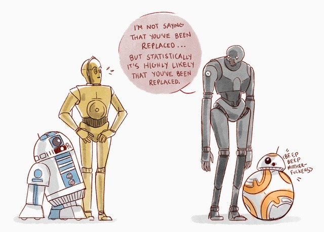 i for one welcome our new droid overlords