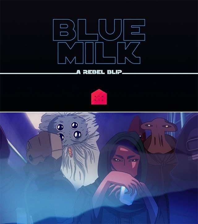 Blue Milk- Short Fan Made Film Based on the Star Wars Trilogy
