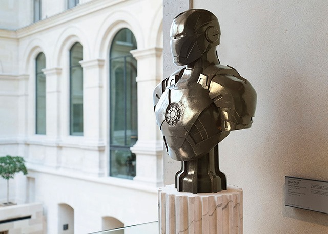 Superheroes-Classical-Sculptures-Leo-Caillard-Iron-Man