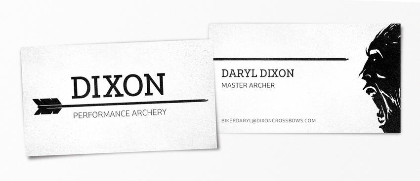 Daryl Dixon pop-culture-business-card-19