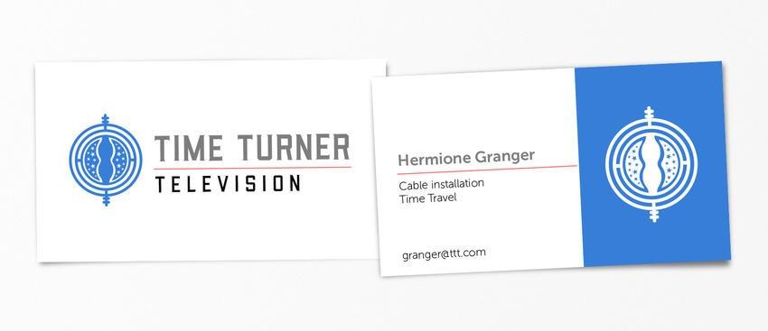 Hermoine Granger pop-culture-business-card-18