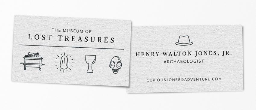 Indiana Jones pop-culture-business-card-16