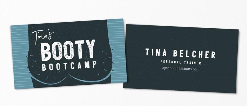 Tina Belcher pop-culture-business-card-08
