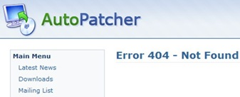 The End Of Autopatcher