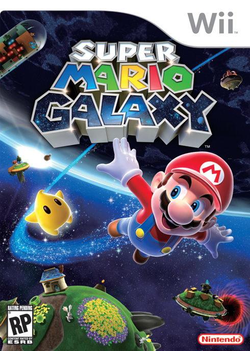 Super Mario Galaxy Box Art