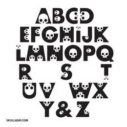 Skullphabet Halloween Free Font