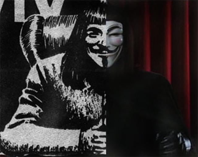 V For Vendetta Comic Book Speech